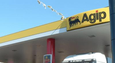 distributore benzina agip