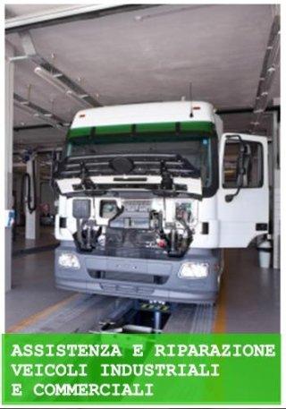 assistenza e riparazione veicoli industriali