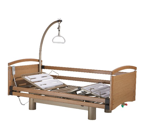 Solace 972 profiling, height adjustable bed.