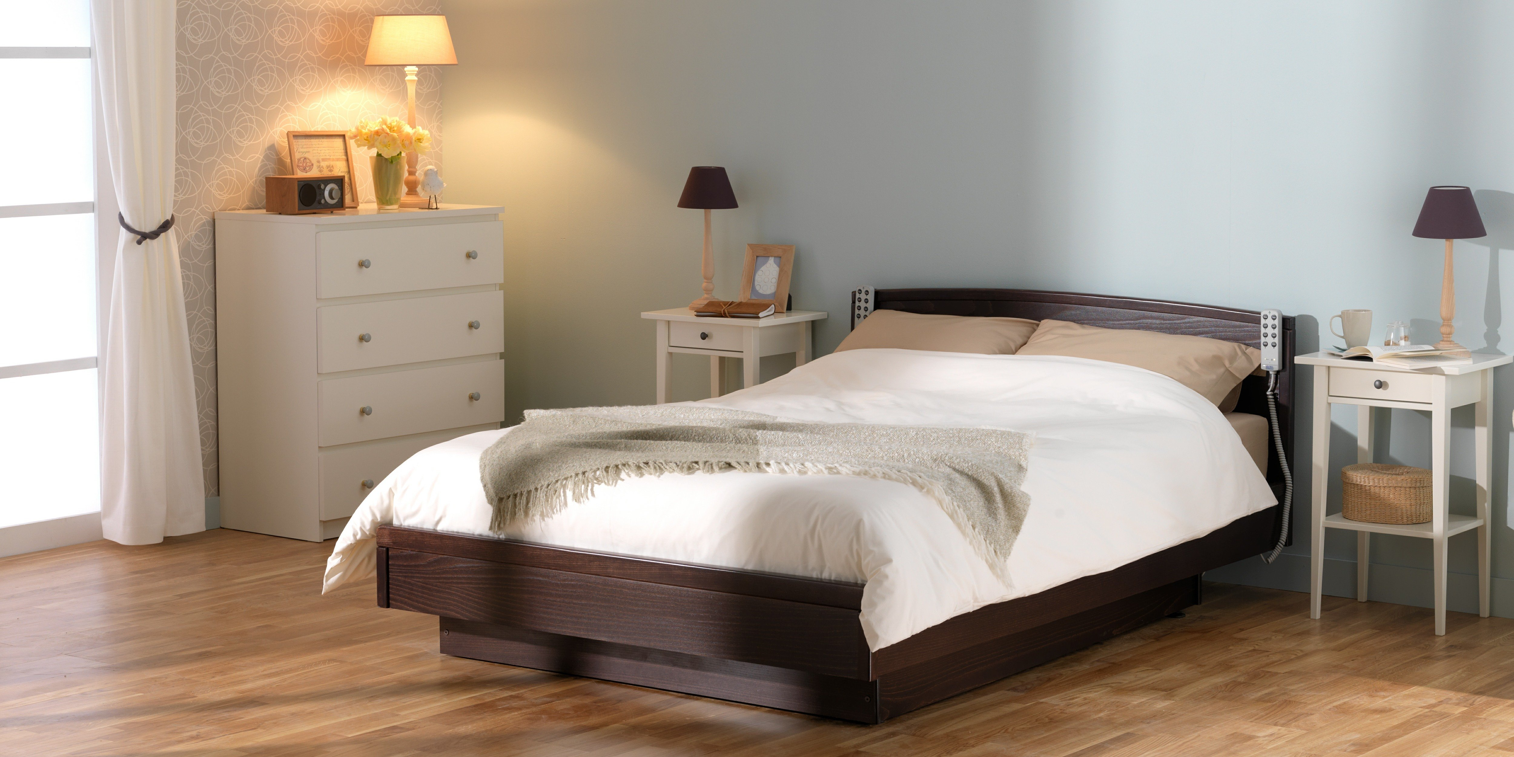 TWIN PROFILING HEIGHT ADJUSTABLE TWIN BED