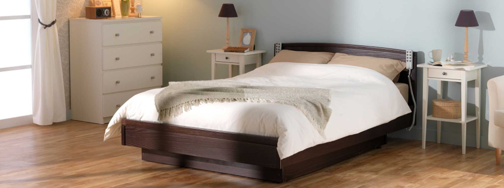 Countess profiling height adjustable double bed