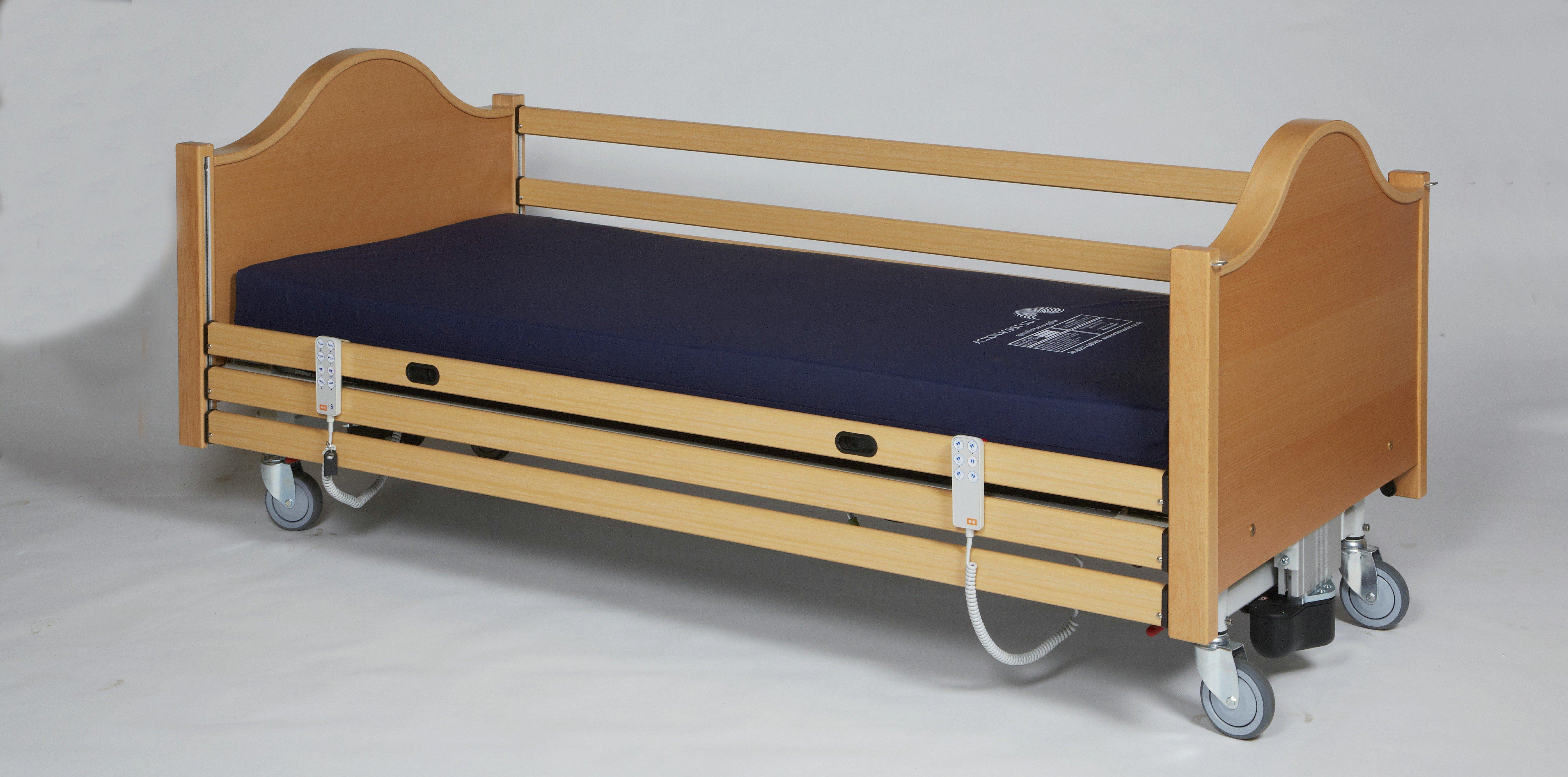 Princess 5000 lateral tilting bed.