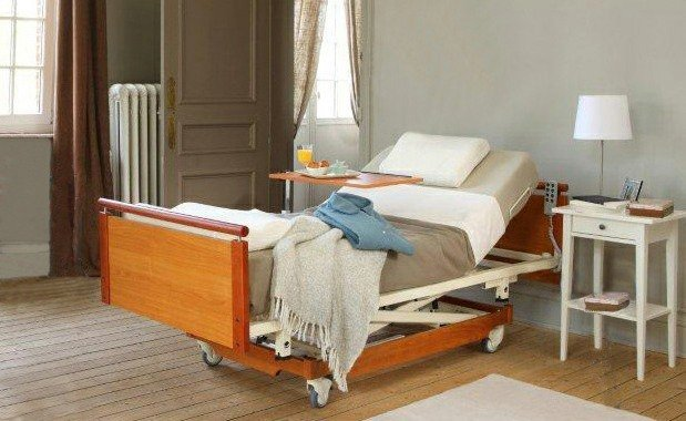 SINGLE PROFILING HEIGHT ADJUSTABLE BED