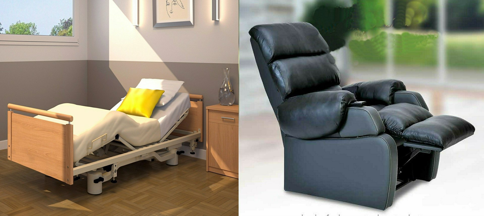 Electric Adjustable Beds for Elderly and Limited Mobility ...