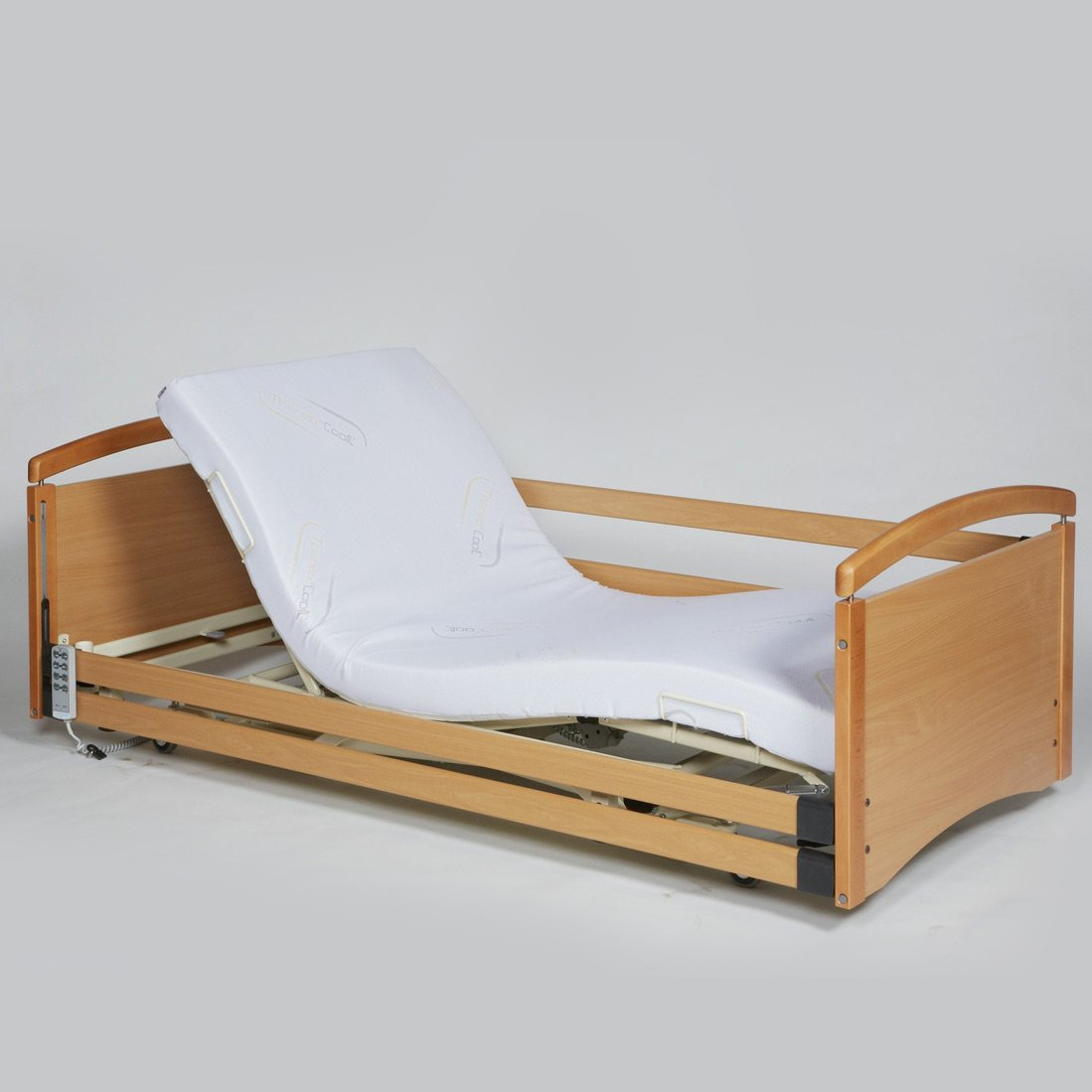 ULTRA LOW SINGLE PROFILING HEIGHT ADJUSTABLE BED