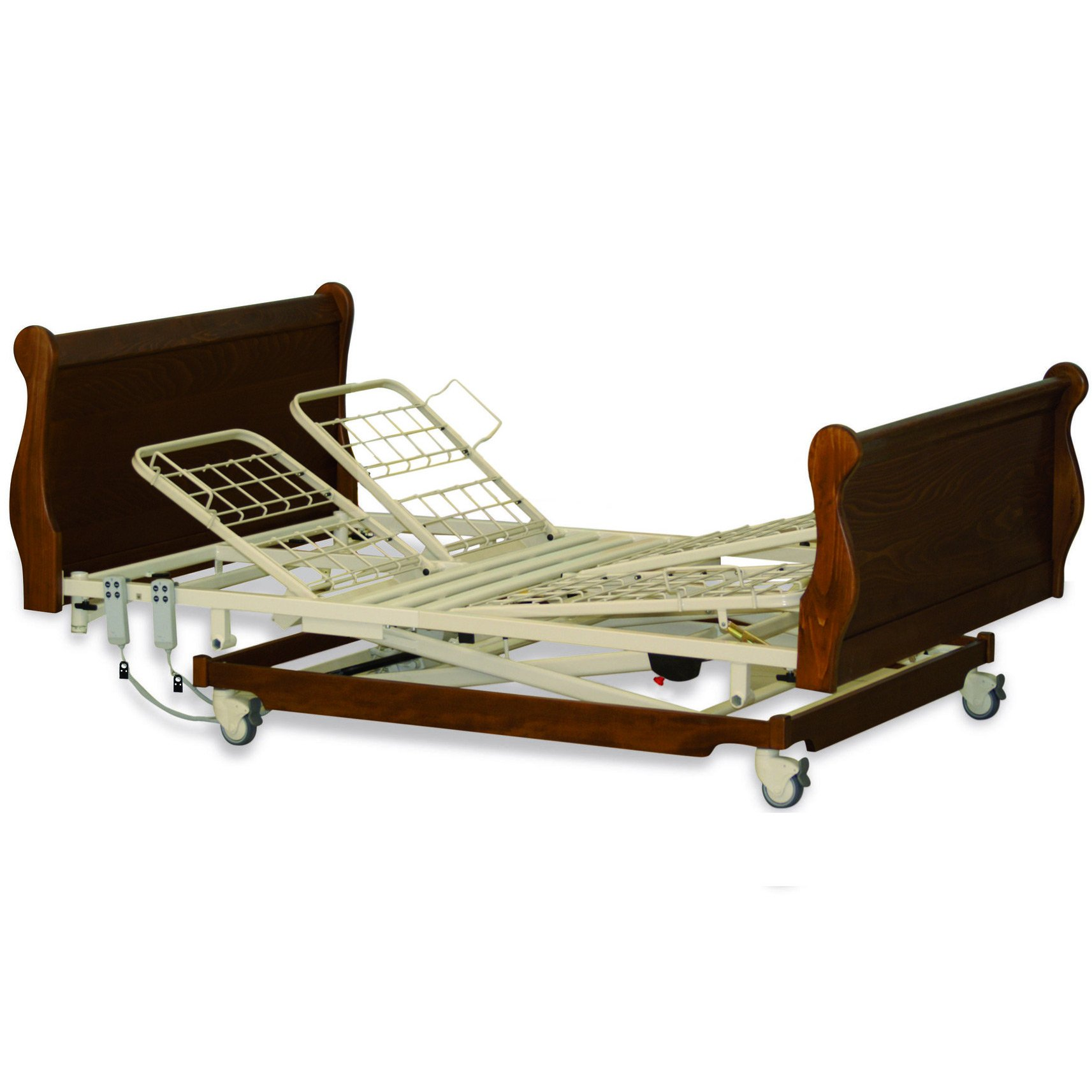 Solace 502 twin profiling, height adjustable bed.