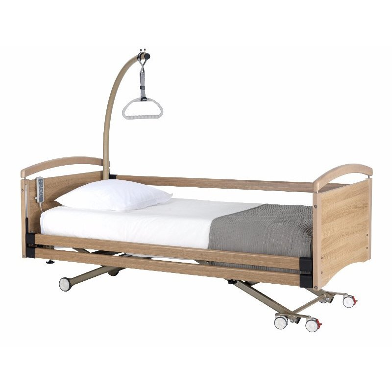 Solace 520 profiling, height adjustable bed.