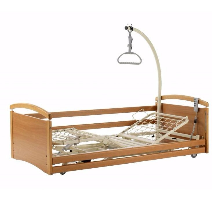 Solace 382 ultra low profiling height adjustable bed