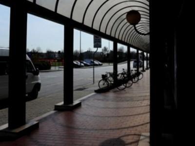 tettoia supermercato