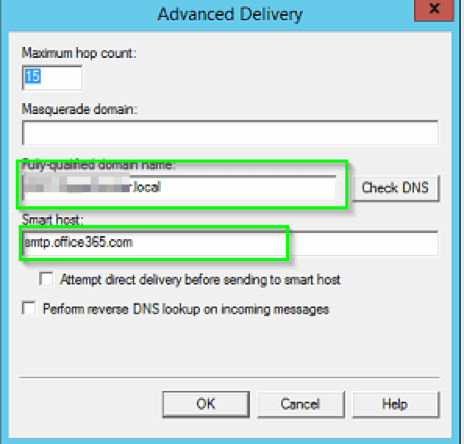 SMTP Relay Server Setup to Send Emails When Using Office 365
