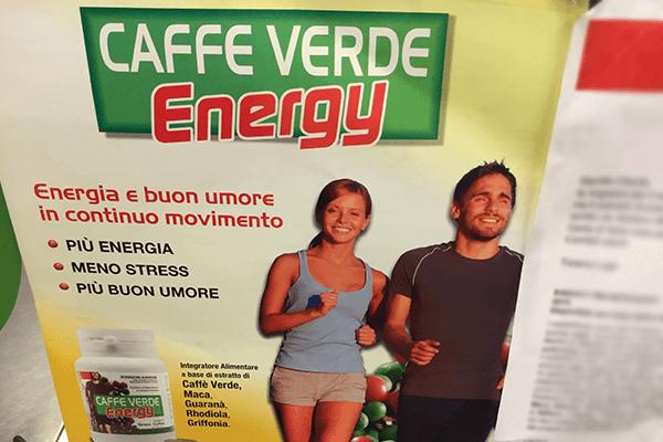 caffè verde energizzante