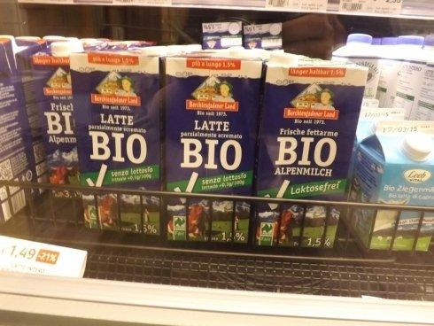 latte bio