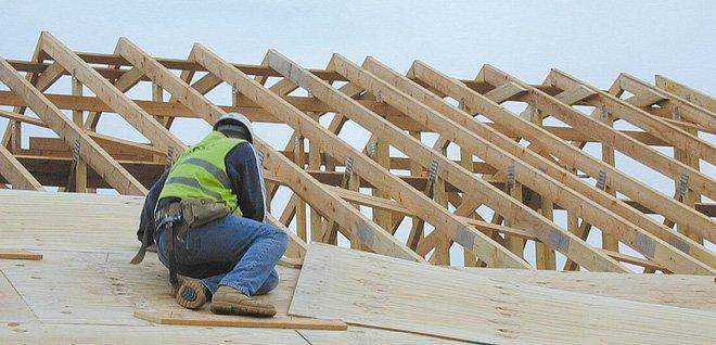 Timber Frame Building - Norfolk - Wroxham Builders Ltd. - Builder - Timber Frames - Roof