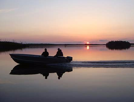 The Churchill River is unlike most rivers. It is comprised of a series of lakes linked by channels and rapids. This remote area on the Canadian Shield makes for great fishing. Click for more information.