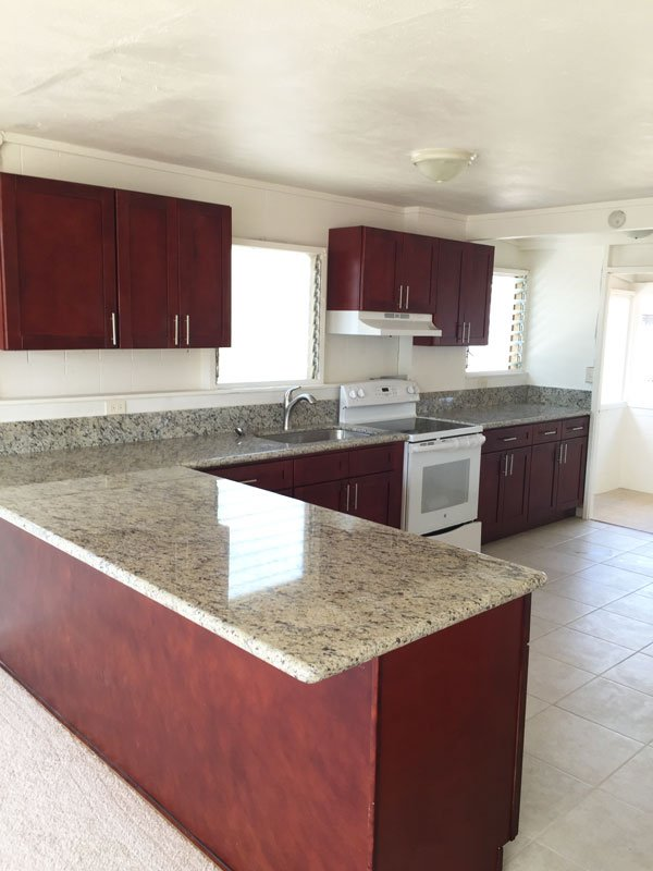 Kitchen cabinetry remodeled