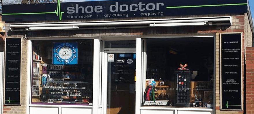 Expert shoe repairs