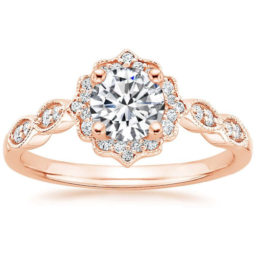 diamond modern antique rings that engagement