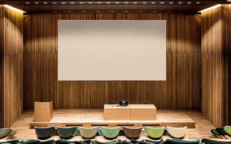 rivestimento auditorium Cantine Antinori