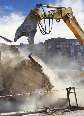 trasporto materiale demolizione