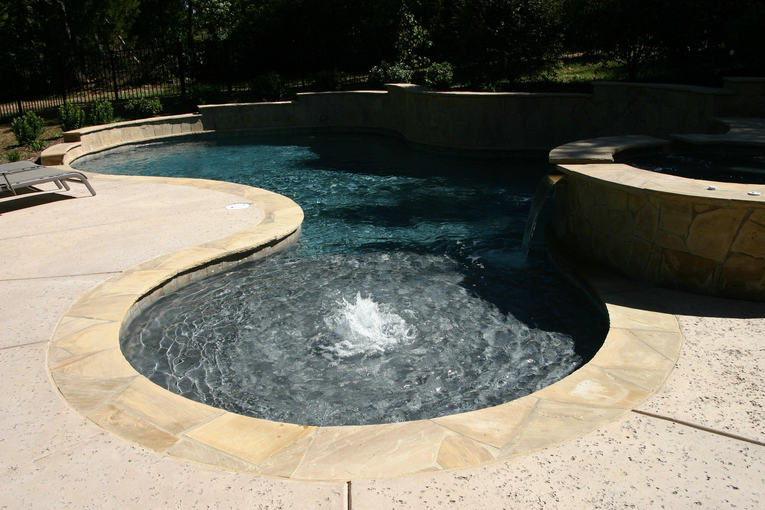 custom pool contractors Concord NC
