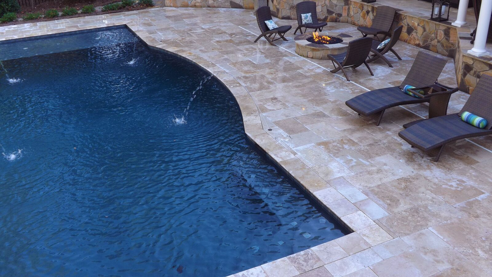 custom pool contractors Waxhaw NC