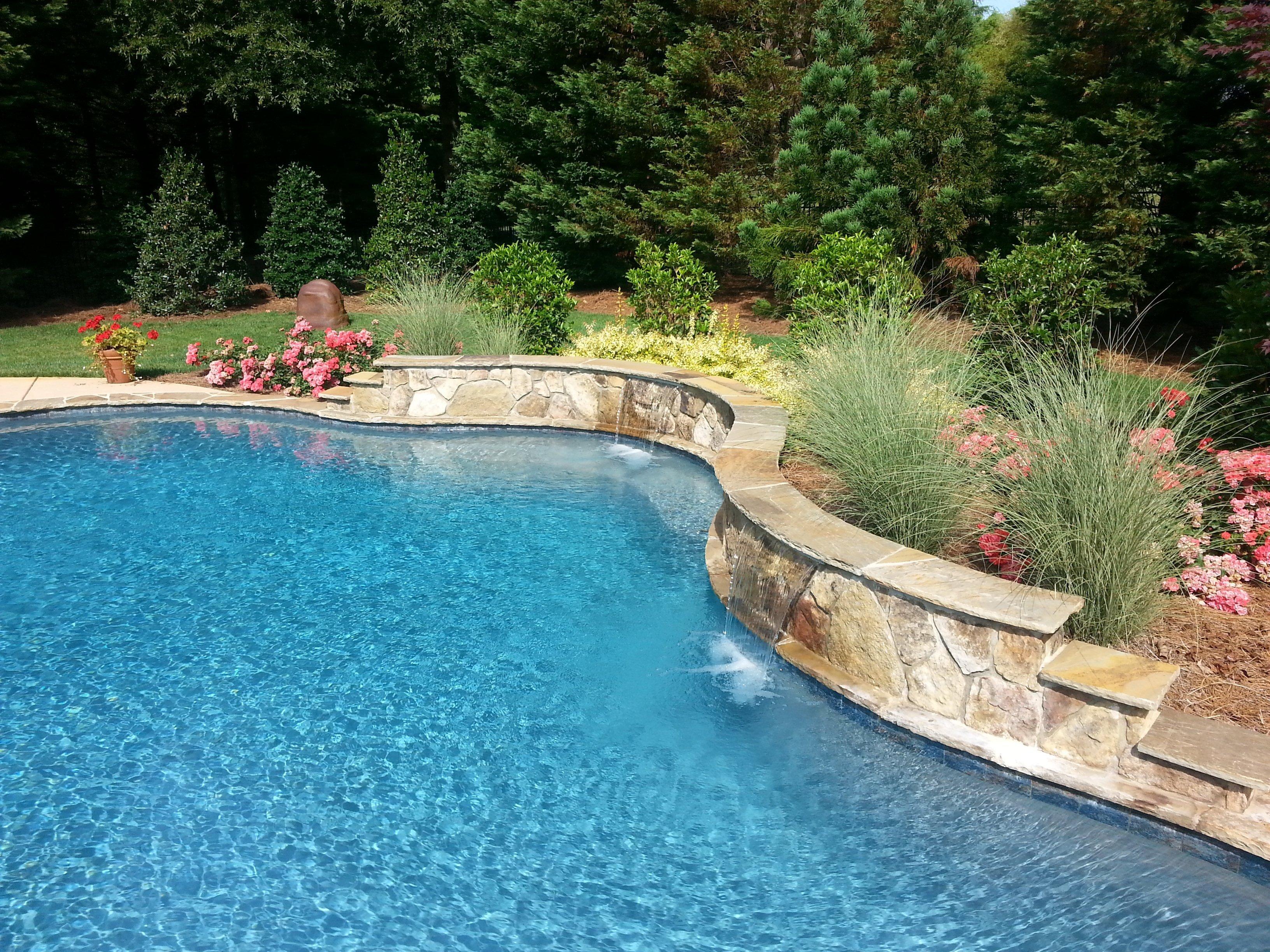 custom pool contractors Waxhaw NC