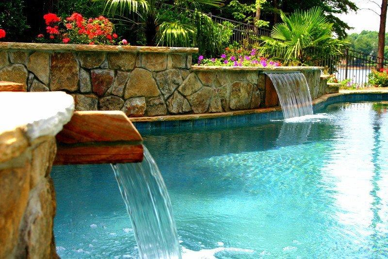 custom pool contractors Charlotte NC