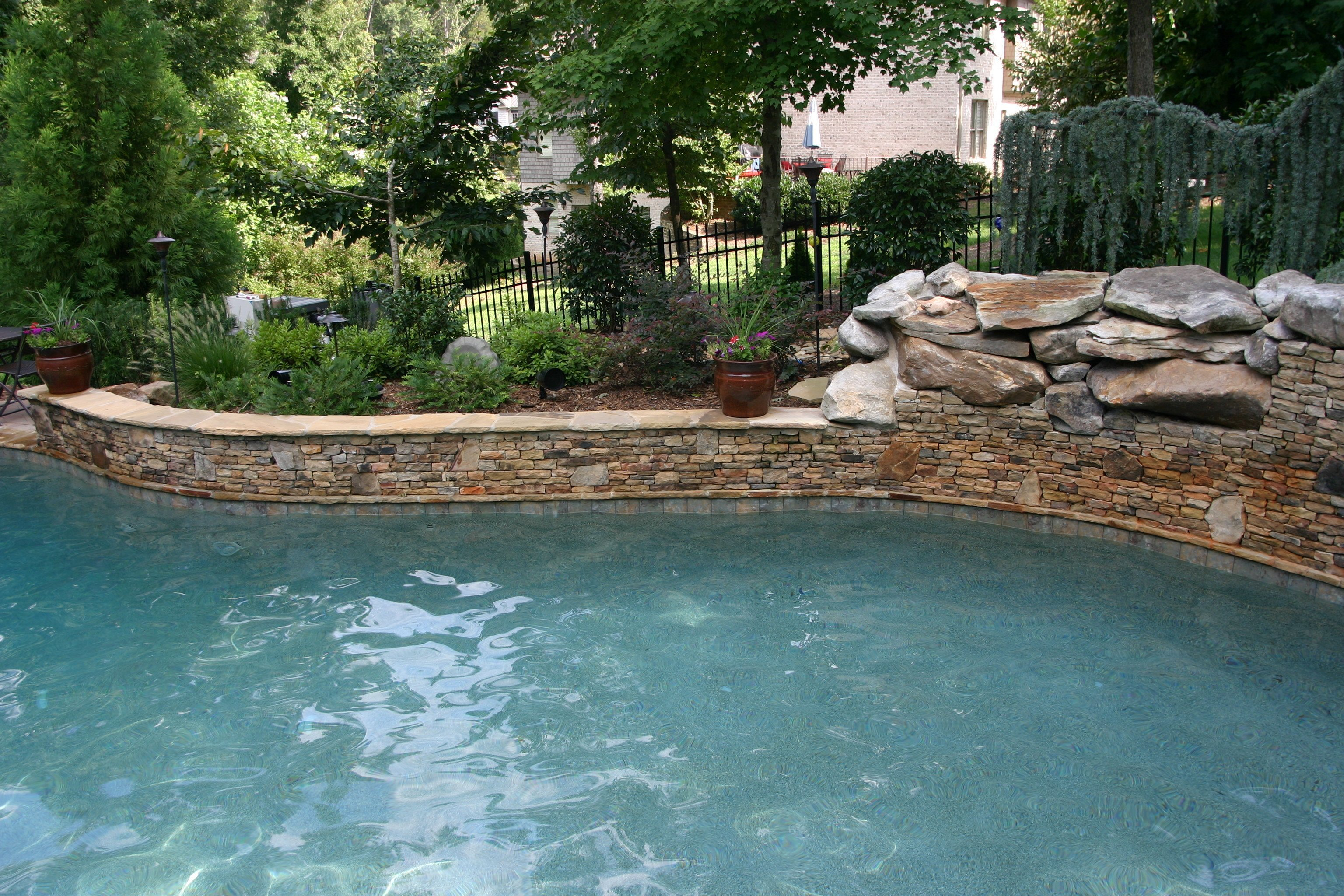 Water Features Aloha Pools Inc Charlotte Lake Wylie