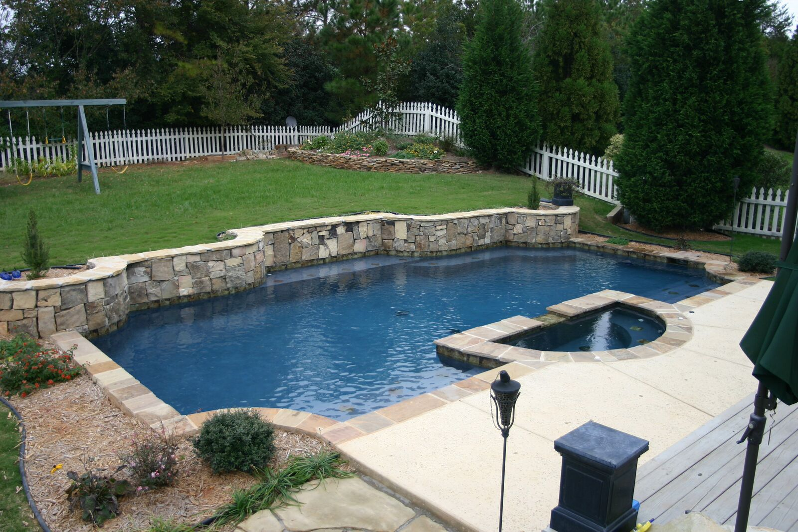 Geometric Pools Custom Pool Builders Concord Nc Aloha