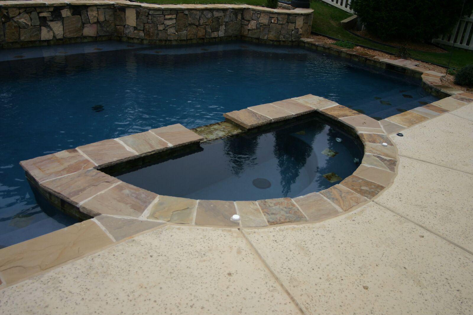 Spas Custom Pool Contractor Charlotte Nc Aloha Pools