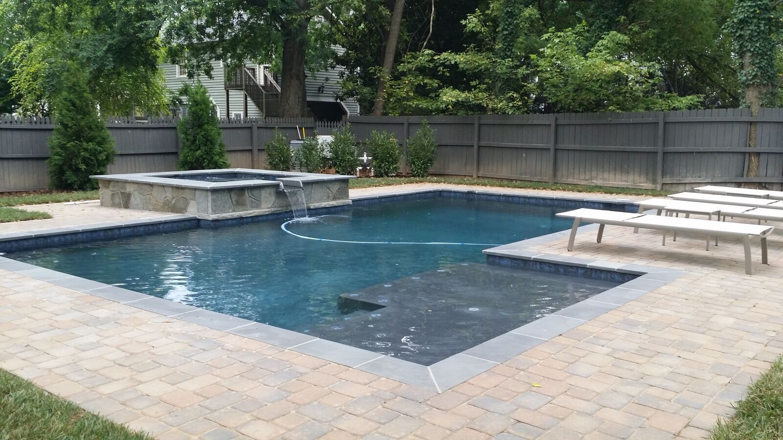 Geometric pools custom pool builders concord nc aloha for Pool design website
