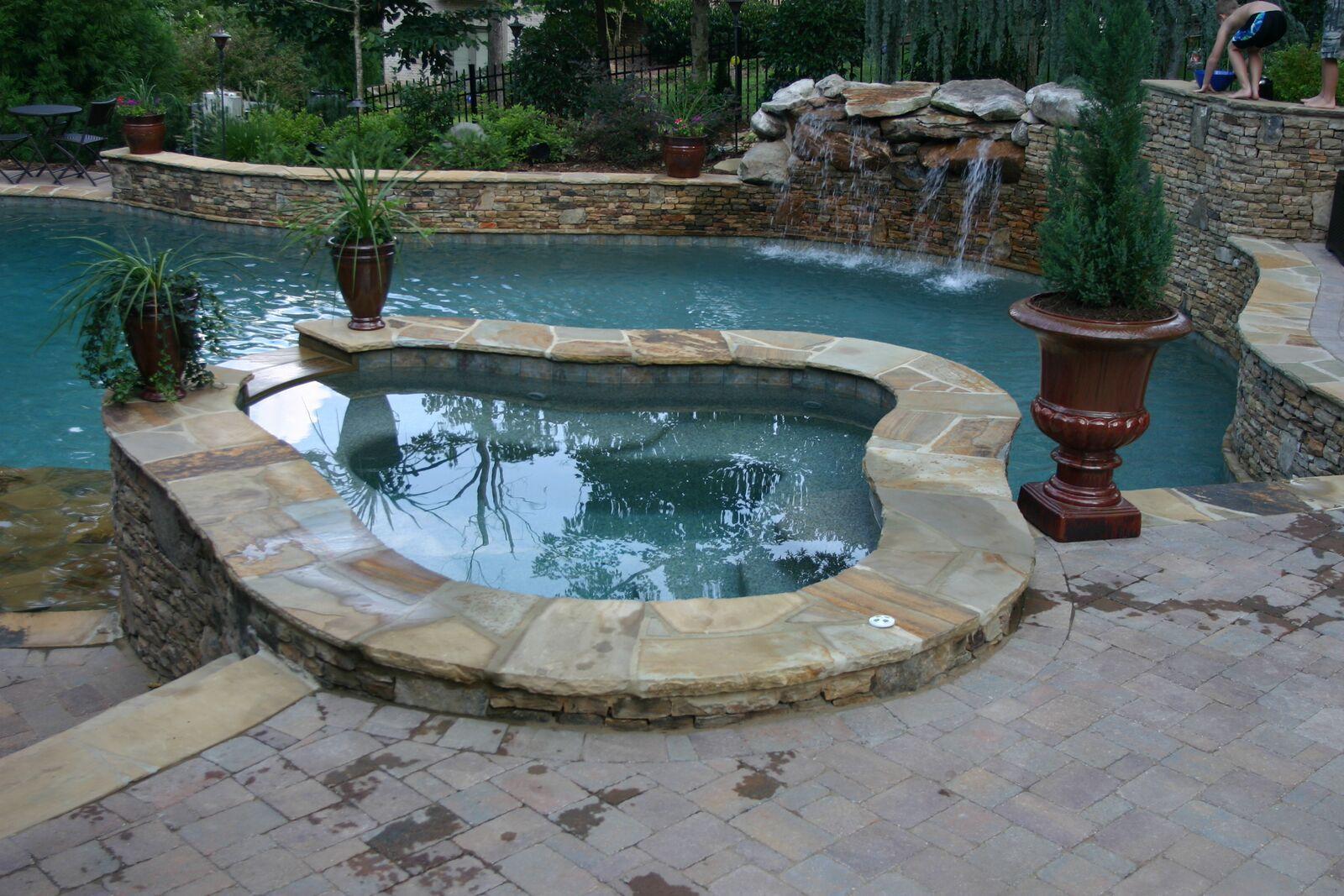 custom pool builders Waxhaw NC