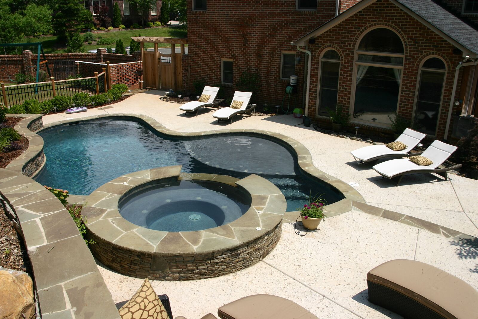 inground pool Waxhaw NC