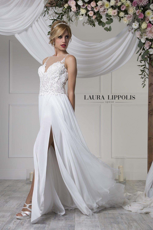 0883ce342406 ... di Laura Lippolis spose a Putignano. abito da sposa glamour · abito da  sposa glamour