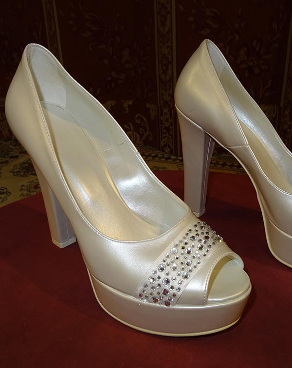 Le scarpe da sposa a Putignano