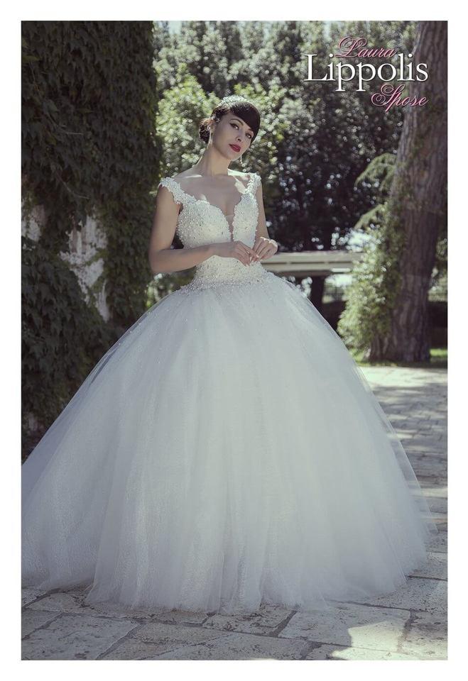 abito sposa romantico