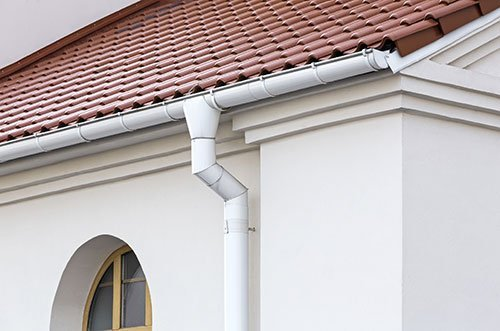Roof, Siding & Gutters on a house