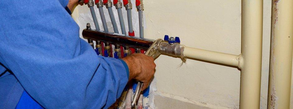 robinson plumbing plumber fitting gas line