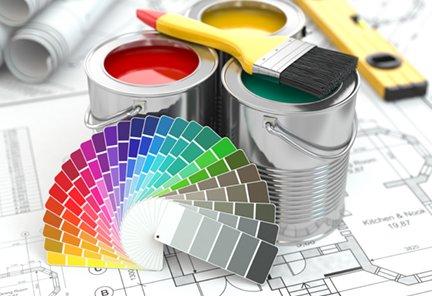 paint bucket samples rainbow