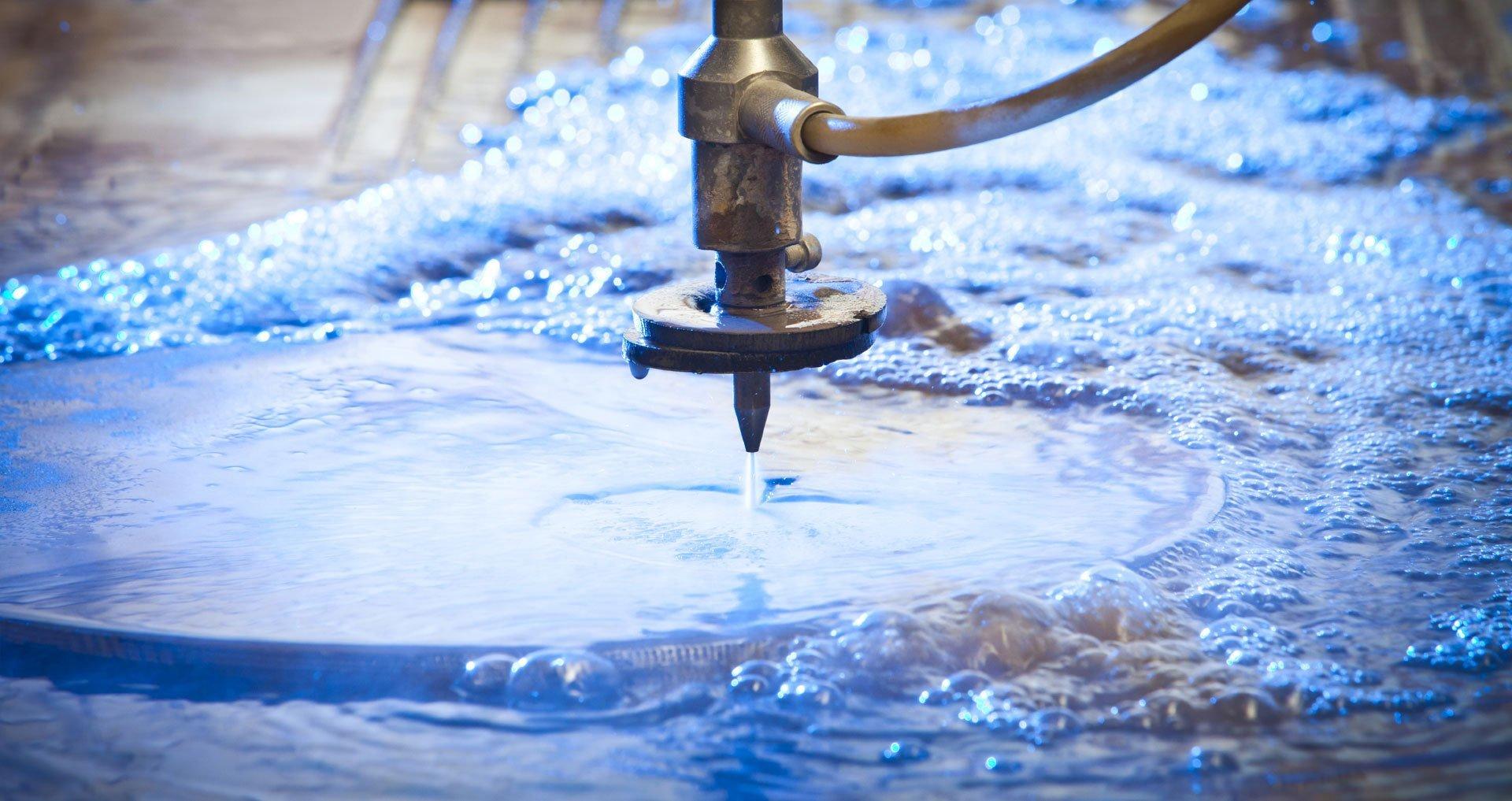 water jet machine shops