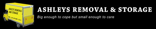 Ashley's Removals and Storage logo