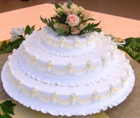 esempio di torta per matrimonio