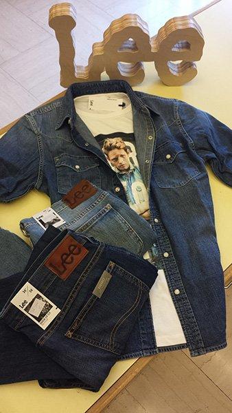 jeans e giacca Lee