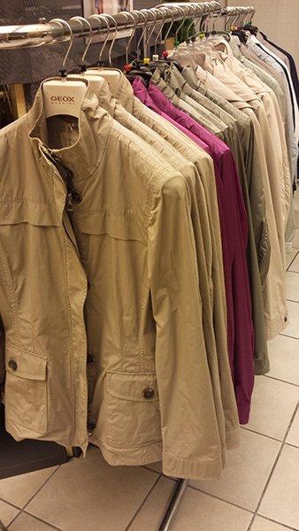 giacche in vari colori