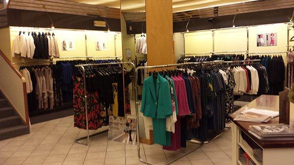 interno di una boutique