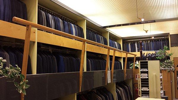 giacche in un negozio