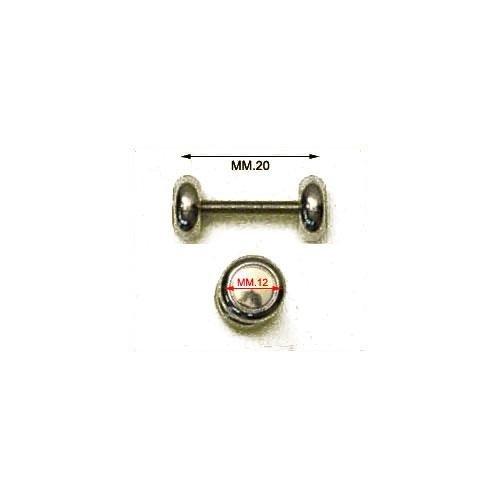 3M27011 - Barretta filettata con 2 dadi