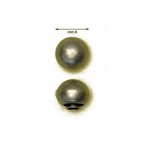 3MT36PT - Testa rivetto 036, tipo palla, in materiale ottone