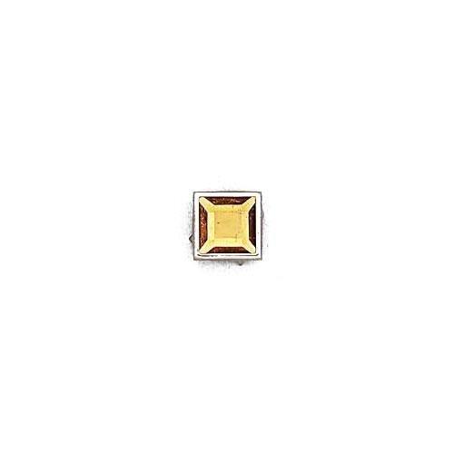 3M24408 - Strass quadrato mm.12 con castone