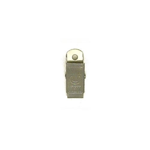 3M5383 - Clips in ferro con foro di mm.3,35